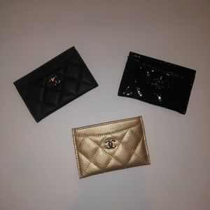 Handbags - Chanel beaute credit card holder wallet